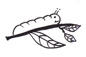 Find a song below that invites children to act out the story of a caterpillar.
