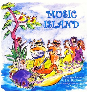 Music Island art by Karen Roehr.