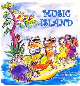 Music Island art by Karen Roehr.