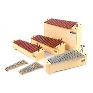 Pitched percussion instruments are an important part of the Orff approach to teaching music.